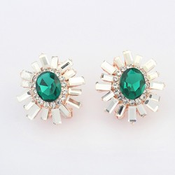 European and American luxury personality ear clip charm earring