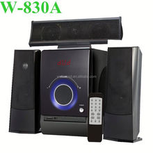 new design3.1digital multimedia computer system with fm remote with USB/SD/FM/2MIC/REMOTE CONTROL/LED DISPLAY