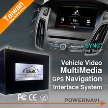 Classic ford kuga car gps navigation With gps, canbus steering wheel control ISDB-T /ATSC/ DVB-T