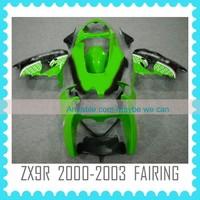 ZX9R 2000-2002 ABS Custom motorcycle Fairing body kit