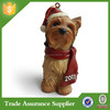 Promotional Resin Christmas Decoration Dog for Gifts