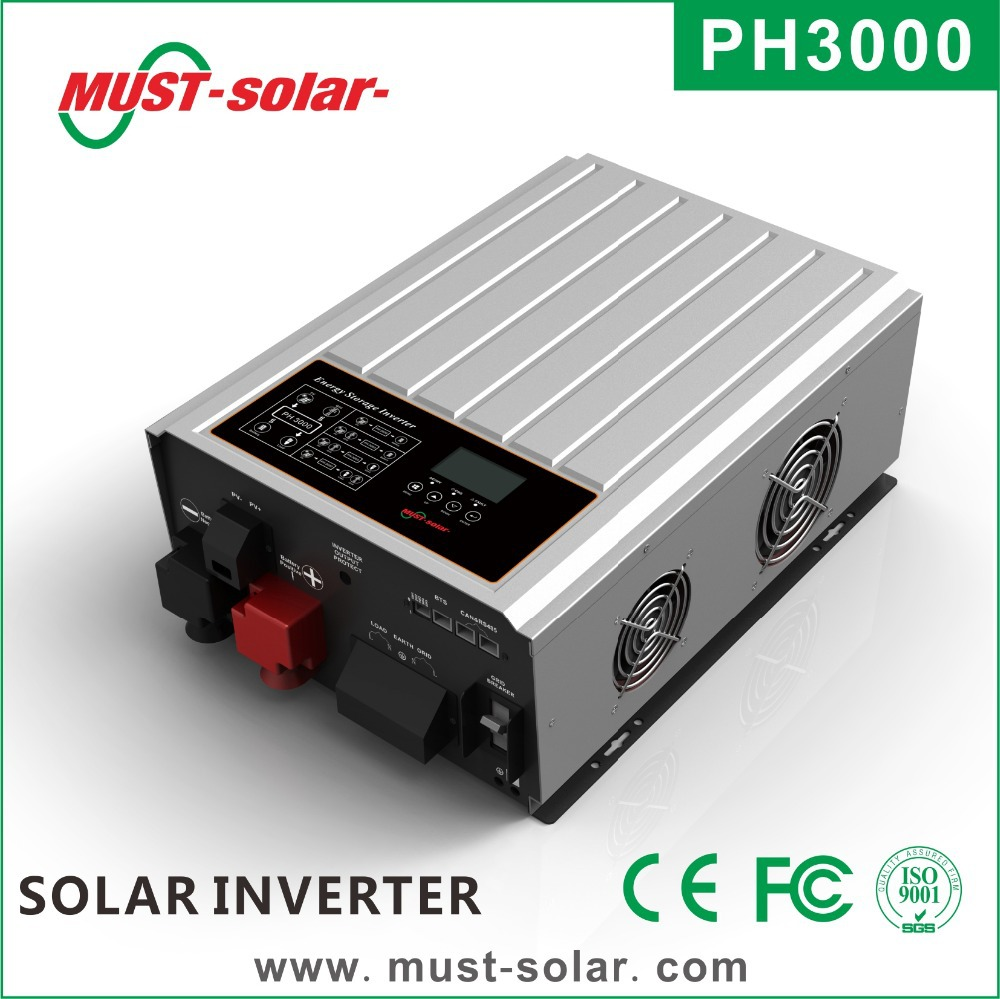 Solar Inverter With Battery Circuit 5000 Watt Power Schematic Grid Tie Micro Gel Photos Of