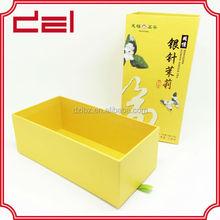 high quality cardboard tea box for green tea