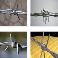 Galvanized Razor Barbed Wire / Barbed Wire for fence