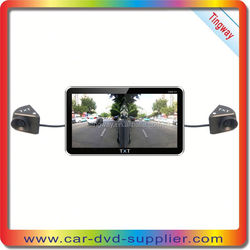 """new arrival product 7"""" GPS micro digital camera for car gps with WIFI,AVIN,Four camera located in front,back,side of car"""