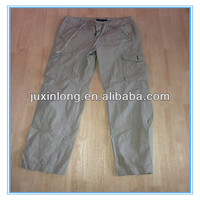 All kind of cotton pants with many pocket from china