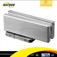 Italy tempered glass door accessories concealed hinge