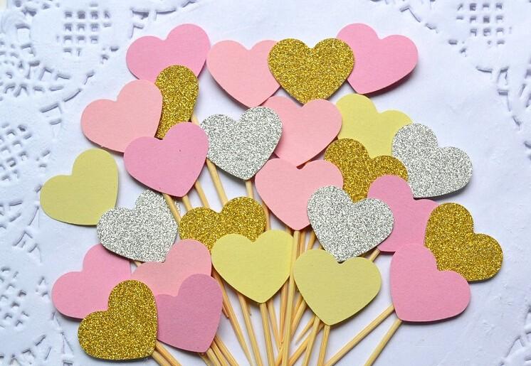 Resultado de imagem para decoração de festa coração