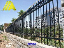 DK020 2015 Modern Metal Garden Fence Panels used for Yard/School/Garden