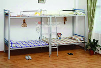 School Furniture Supplier Student Use Steel Bunk Bed