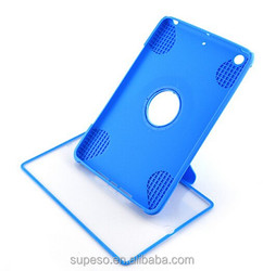 With stand New TPU Flip Touch Screen Case Protector Cover For Apple ipad mini