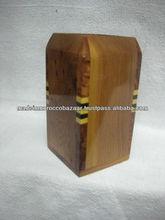 Quality Moroccan Thuya Wood Pen Holder Box 11 cm x 5 cm