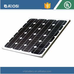 High Efficiency poly 65W best price per watt solar panels in india