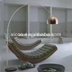 Fornecedor china novo produto girado e altura ajustável de alumínio e mármore lâmpada de assoalho levou