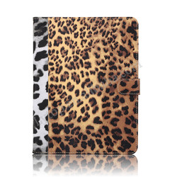 Hot Selling Leopard Print Flip Stand PU Leather Tablet Case For iPad Mini 1/2/3/4