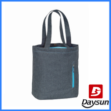 custom tote shopping bag with laptop compartment