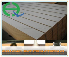 high quality mdf slat/ slatwall panel mdf