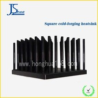 Aluminum square heat sink,square cold forged heatsink
