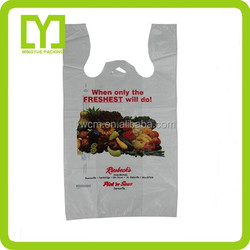2015 alibaba China supplier food packaging promotional cheap logo shopping bags
