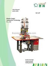 hot sell Ultrasonic Double-Head High Frequency Plastic Welding Machine