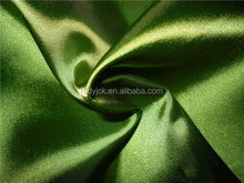 shiny and stretch acetate fabric for garments lining