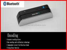 Free dhl ship or ems ship 2015 msr x6bt magnetic stripe card msr reader writer with bluetooth wireless compatible msr206