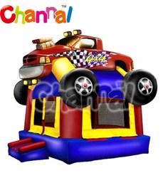 Attractive car shape boys favorite bouncy castle