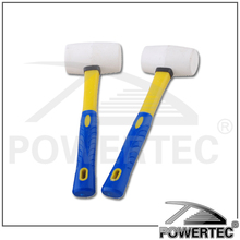 POWERTEC Rubber Roofing Tools, Rubber Hammer