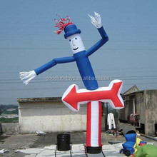 Colorful Funny Advertising Inflatable Products Sky Air Dancer For Activity