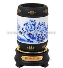 Alto grau de porcelana carbono ativado porcelana recipiente caneta( futuro brilhante) artesanato para presentes do negócio