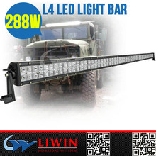 Liwin 50% discount 9-32V DC 4x4 led driving light bar 288w IP67 for UTV Car tractor parts motorcycle