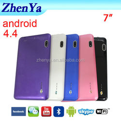 Dual Sim Card 3G Tablet Phone With Bluetooth 4GB FLASH Android 4.4