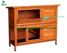 Functional Wooden Rabbit Hutch