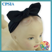 baby knotted headband fancy knitted baby headband boutique hair bows toddler infant baby cotton stripe dot knot headband
