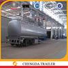 carbon steel tanker body 45000 liters fuel tanker trailer oil tank truck trailer