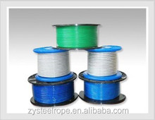 galvanized steel wire rope with blue or white grease 6*37+FC/IWS/IWRC