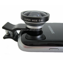 Top quality universal Circle Clip 0.4X super wide angel lens for phone/smartphone