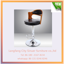 modern bar stool, wooden bar stool