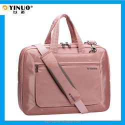 YINUO For Macbook Pro 15-inch Laptop Messenger Bag which can attaching to a luggage trolley