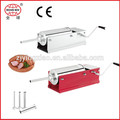 Manual de acero inoxidable salchicha máquinas de procesamiento/embutidora de salchichas