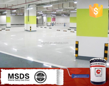 Anti-stain coating two-compound epoxy resin concrete coating