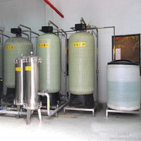 Automatic water softener plant/machine/system remove hardness