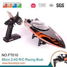 2015 new rc model 65 cm black 35km/h rc racing boat for sale
