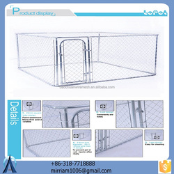 galvanized best quality dog kennel/dog cages /pet house with high quality metal