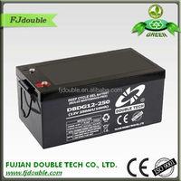 Sealed lead acid 24v 250ah batteries for wind energy UPS systems