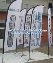High quality hang up banner for trade