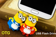 China usb memory 8GB 16gb 32gb 4gb 1gb minions otg usb flash drive