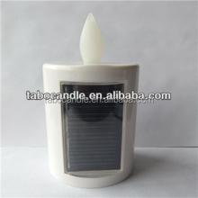solar led grave candle light