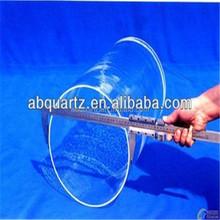 Quartz tube price with large diameter or large diameter quartz glass tube
