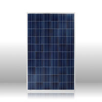 Top supplier 250w poly solar panel black module solar panels high efficiency
